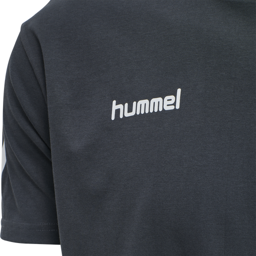 HUMMEL GO COTTON T-SHIRT S/S, INDIA INK, packshot