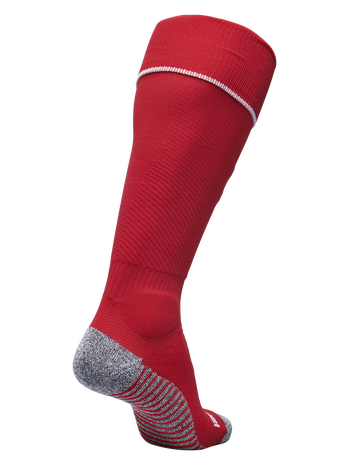 PRO FOOTBALL SOCK, TRUE RED/WHITE, packshot