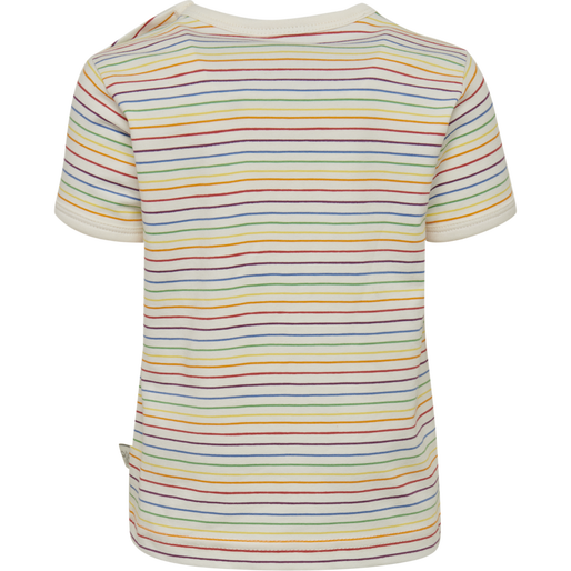 hmlRAINBOW T-SHIRT S/S, WHISPER WHITE, packshot