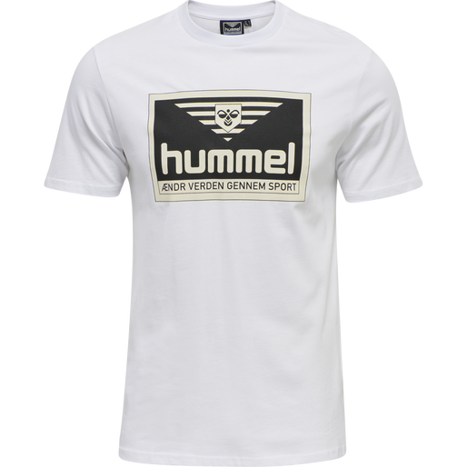 hmlFRESH T-SHIRT, WHITE, packshot