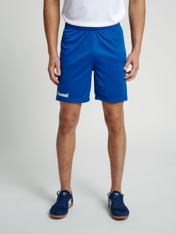 CORE POLY SHORTS, TRUE BLUE PRO, model