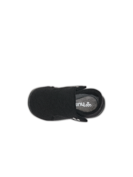 WOOL SLIPPER INFANT  , BLACK, packshot