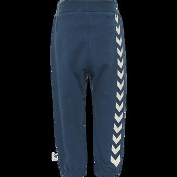 hmlMAUI PANTS, MAJOLICA BLUE, packshot