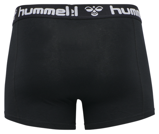 HMLMARS 2PACK BOXERS, BLACK/WHITE, packshot