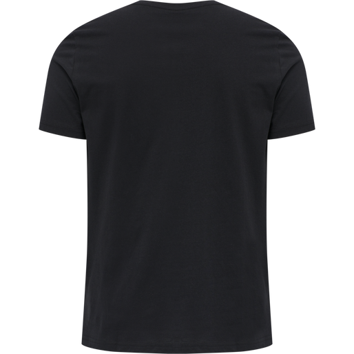 hmlDUNCAN T-SHIRT, BLACK, packshot