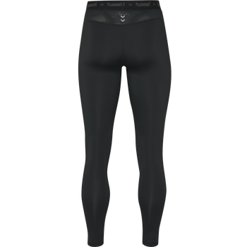 HUMMEL FIRST PERFORMANCE TIGHTS, BLACK, packshot