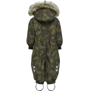 hmlMOON SNOWSUIT, OLIVE NIGHT/ ECRU OLIVE, packshot