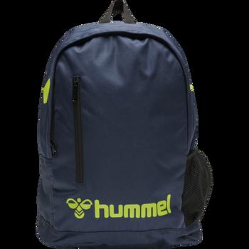 CORE BACK PACK, DARK DENIM/LIME PUNCH, packshot