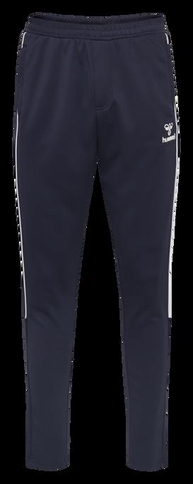 hmlARNE TAPERED PANTS, BLACK IRIS, packshot