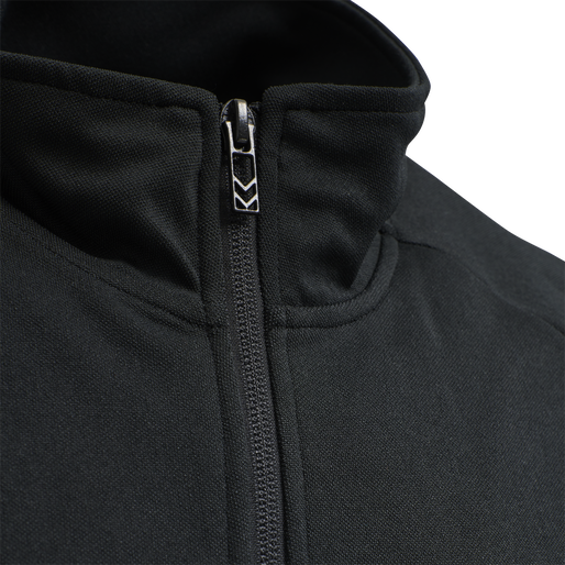 hmlALEC ZIP JACKET, BLACK, packshot