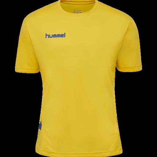 hmlPROMO DUO SET, SPORTS YELLOW/TRUE BLUE, packshot