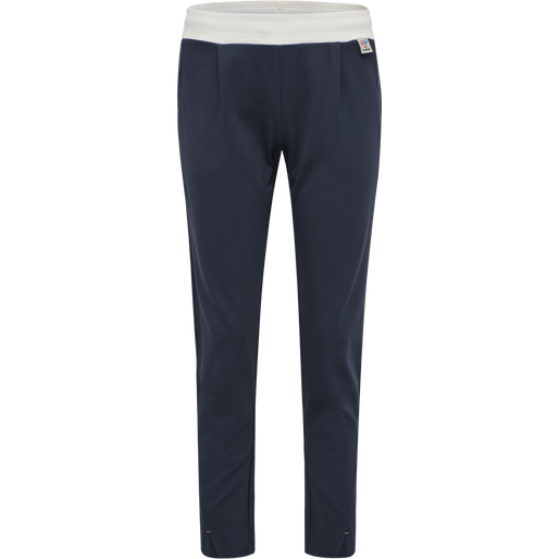 hmlCEDAR REGULAR PANTS, BLUE NIGHTS, packshot