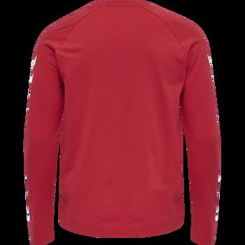 hmlLGC MUSA T-SHIRT L/S, TRUE RED, packshot