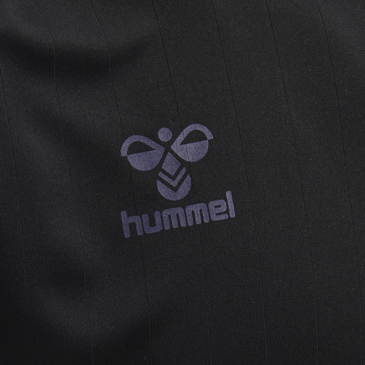 hmlACTION JERSEY S/S, BLACK/MARINE, packshot