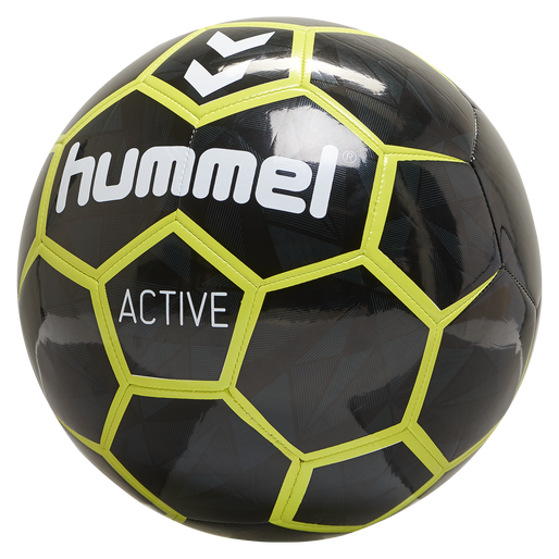 hmlACTIVE FOOTBALL, BLACK/SULPHUR, packshot