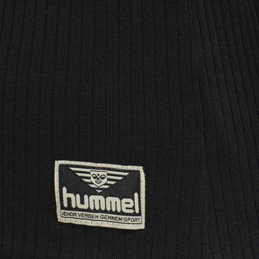 hmlBELL T-SHIRT L/S, BLACK, packshot
