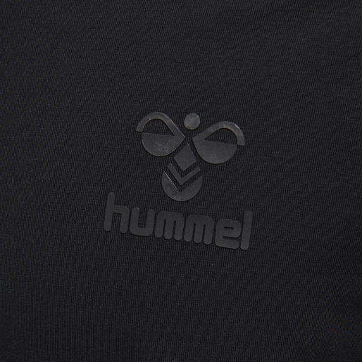 hmlSIGGE T-SHIRT L/S, BLACK, packshot