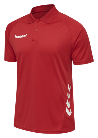 hmlPROMO POLO, TRUE RED, packshot