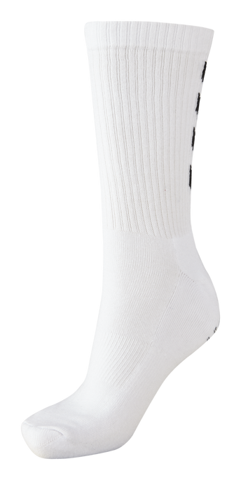 FUNDAMENTAL 3-PACK SOCK, WHITE, packshot