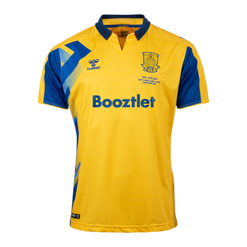 BRØNDBY SHARE LEGENDS JERSEY 2020, SPORTS YELLOW/TRUE BLUE W NO, packshot