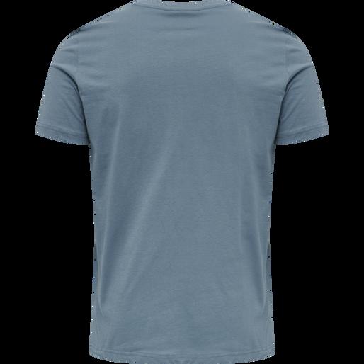 hmlDUNCAN T-SHIRT, CHINA BLUE, packshot