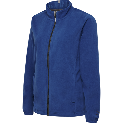 hmlNORTH FULL ZIP FLEECE JACKET WOMAN, TRUE BLUE, packshot