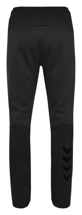 hmlTROPPER TAPERED PANTS, BLACK, packshot