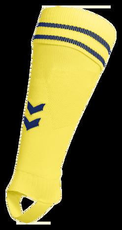 ELEMENT FOOTBALL SOCK FOOTLESS, SPORTS YELLOW/TRUE BLUE, packshot