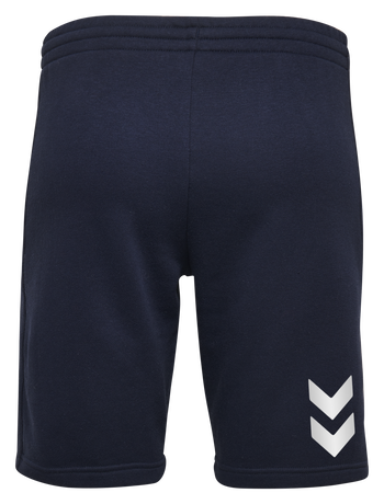 HUMMEL GO COTTON BERMUDA SHORTS WOMAN, MARINE, packshot