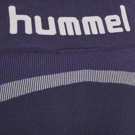 hmlHARPER SEAMLESS TIGHT SHORTS, OMBRE BLUE , packshot