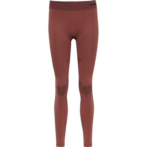 hmlFIRST SEAMLESS TRAINING TIGHT WOMEN, MARSALA, packshot