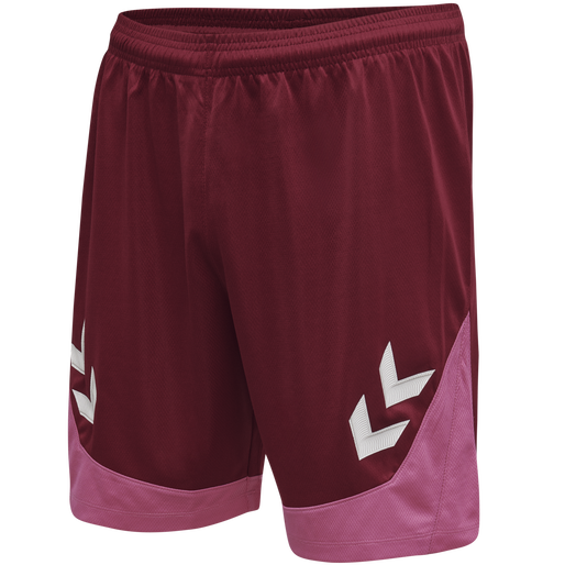 hmlLEAD POLY SHORTS KIDS , BIKING RED, packshot