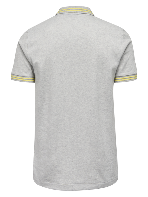 CLASSIC BEE NOAH POLO, GREY MELANGE, packshot