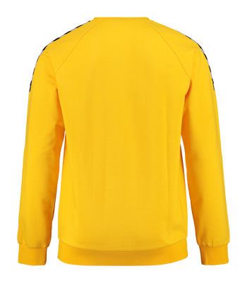 AUTH. CHARGE COTTON SWEATSHIRT, SPORTS YELLOW, packshot