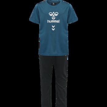 hmlSUPER FOOTBALL SET, BLUE CORAL, packshot