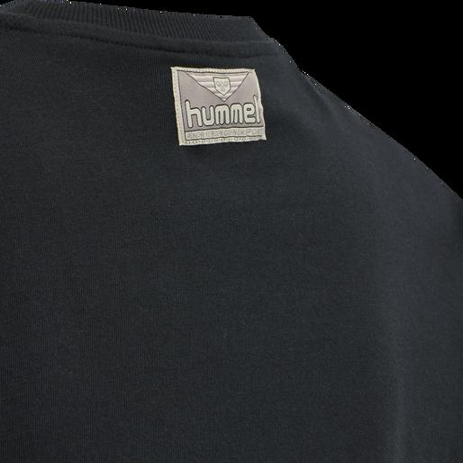 hmlGRAPHIC T-SHIRT, BLACK, packshot