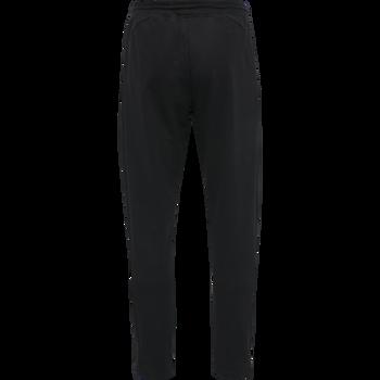 hmlACTION COTTON PANTS, BLACK/FIESTA, packshot