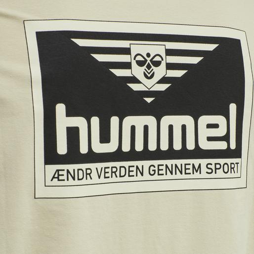hmlFERIE T-SHIRT, PELICAN, packshot