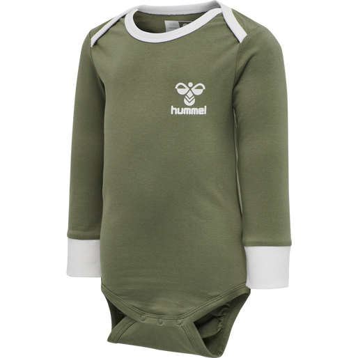 hmlMAUI BODY L/S, DEEP LICHEN GREEN, packshot