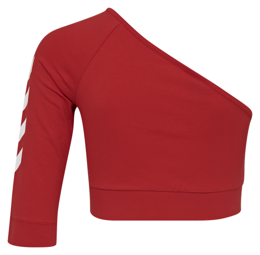 hmlVINNI CROPPED TOP, TRUE RED, packshot