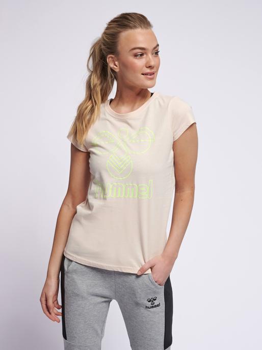 Hummel Damen Frame T-Shirt Langaermlige