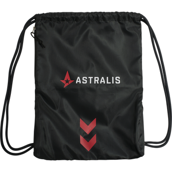 ASTRALIS GYM BAG, BLACK, packshot