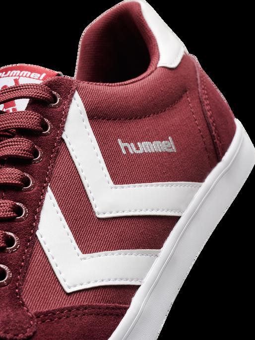 HUMMEL SLIMMER STADIL LOW, CABERNET, packshot