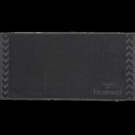 HUMMEL SMALL TOWEL, ASPHALT, packshot