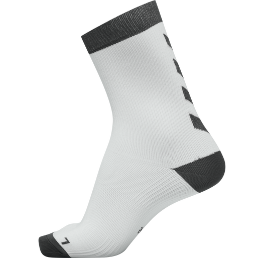 ELEMENT PERFORMANCE SOCK 2 PACK, WHITE/ASPHALT, packshot