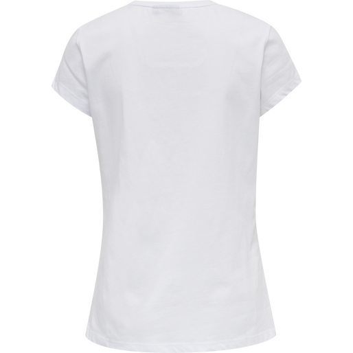 hmlCYRUS T-SHIRT, WHITE, packshot