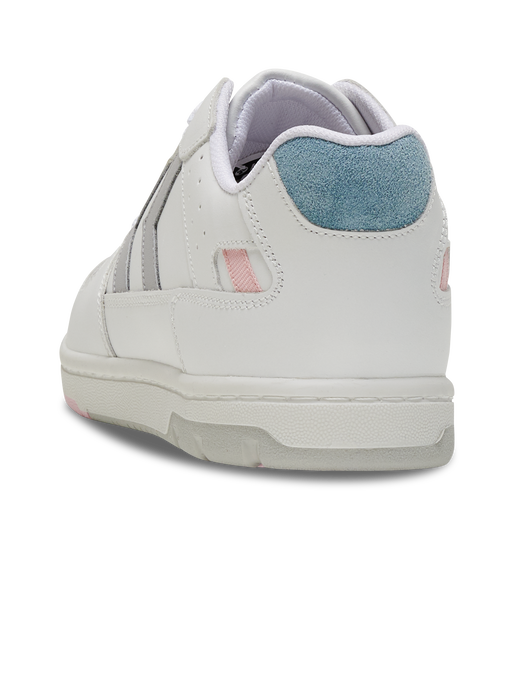 POWER PLAY LEATHER, WHITE/PEACHY KEEN, packshot