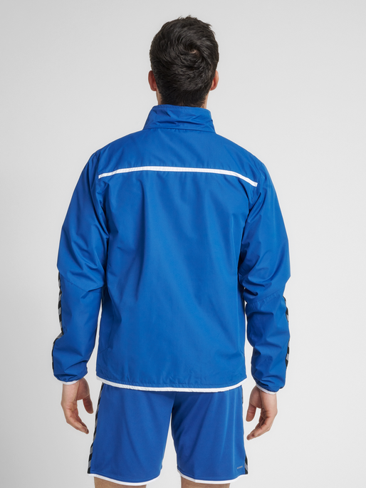 Active Elements Blue Windbreaker Shorts
