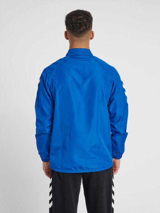CORE MICRO ZIP JACKET, TRUE BLUE, model