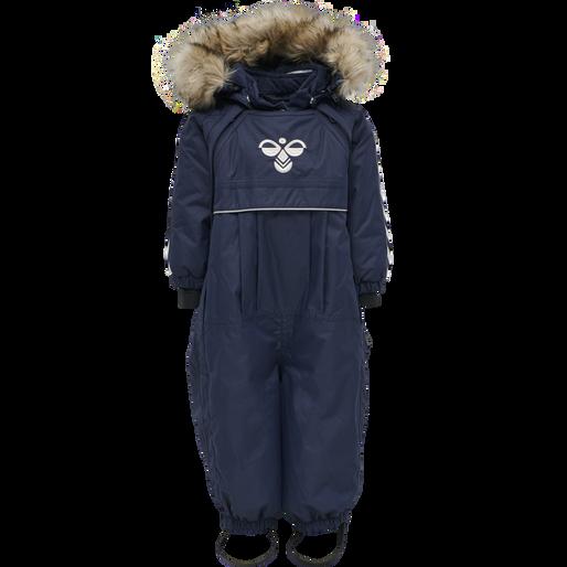 hmlMOON SNOWSUIT, BLACK IRIS, packshot